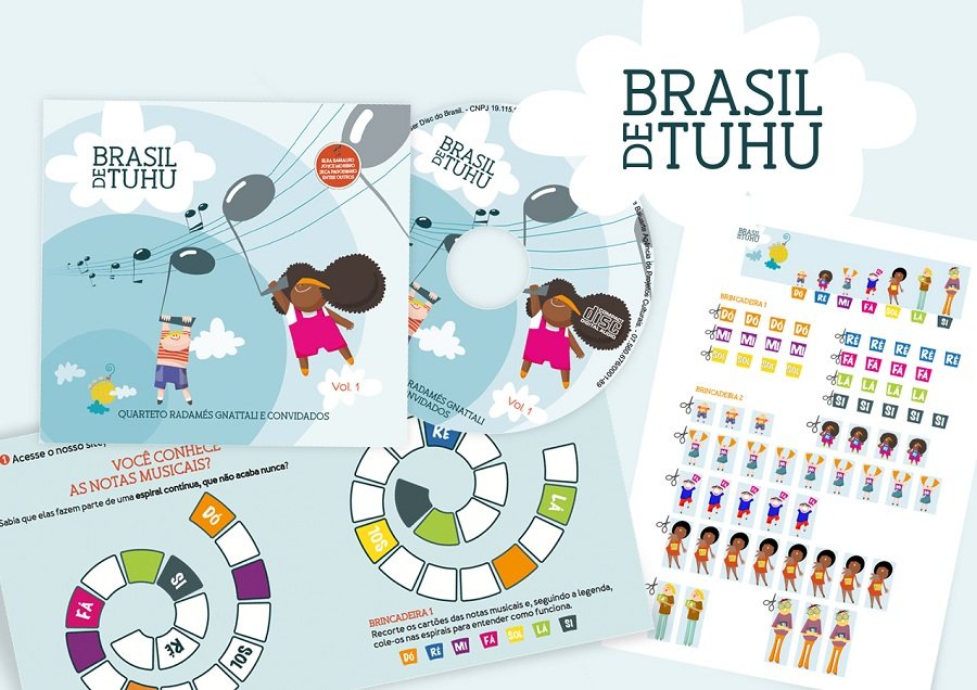 CD Brasil de Tuhu - Encarte de brincadeiras
